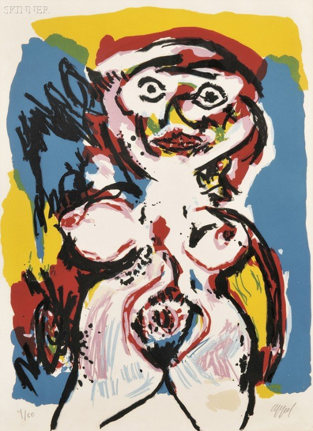 3: Karel Appel (Dutch, 1921-2006) Nu, c. 1963, edition
