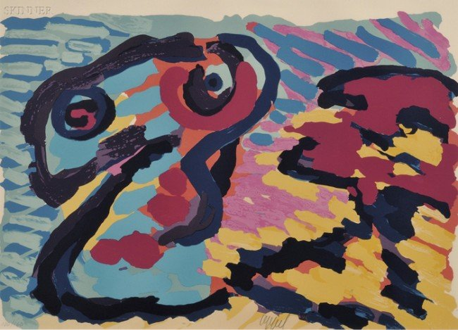 5: Karel Appel (Dutch, 1921-2006) Untitled, edition of