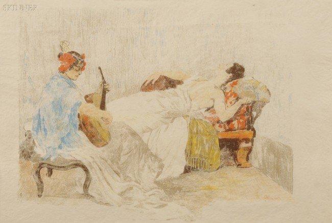 126: Alexandre Lunois (French, 1863-1916) Le Repos des