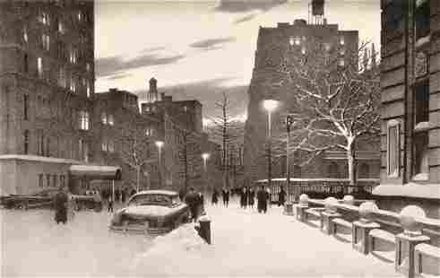 197: Stow Wengenroth (American, 1906-1978) Lower Fifth