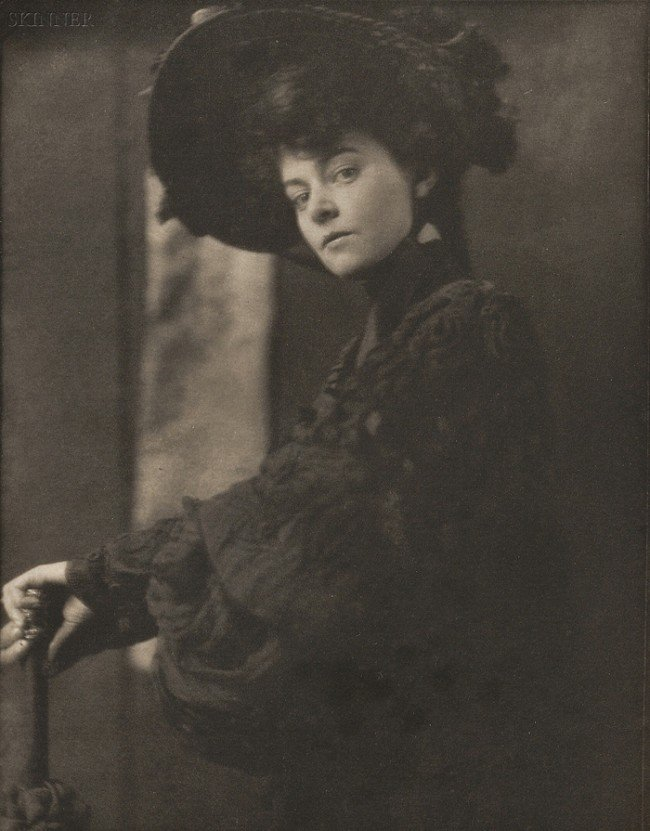 239: Gertrude Kasebier (American, 1852-1934) Portrait o