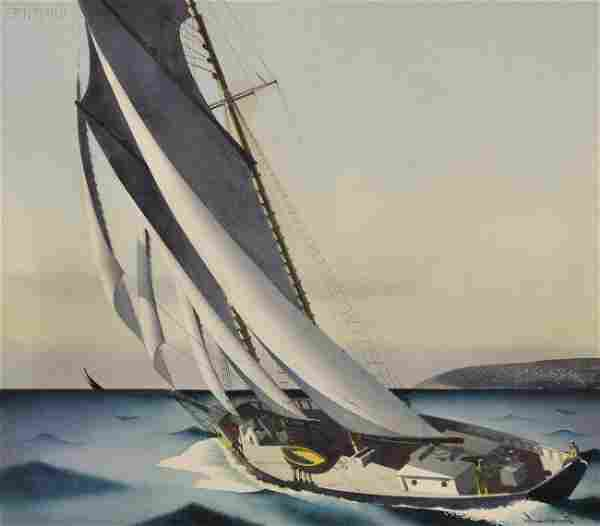 Sandor Bernath (American, 1892-1984) Lot of Three
