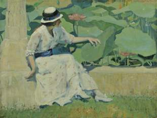 484: Jane Peterson (American, 1876-1965)
