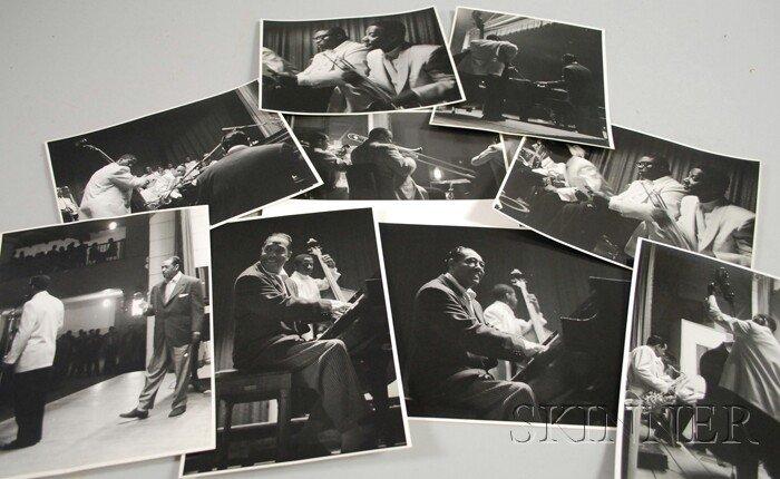 6: Set of Nine Steve Crouch Concert Photographs of Duke