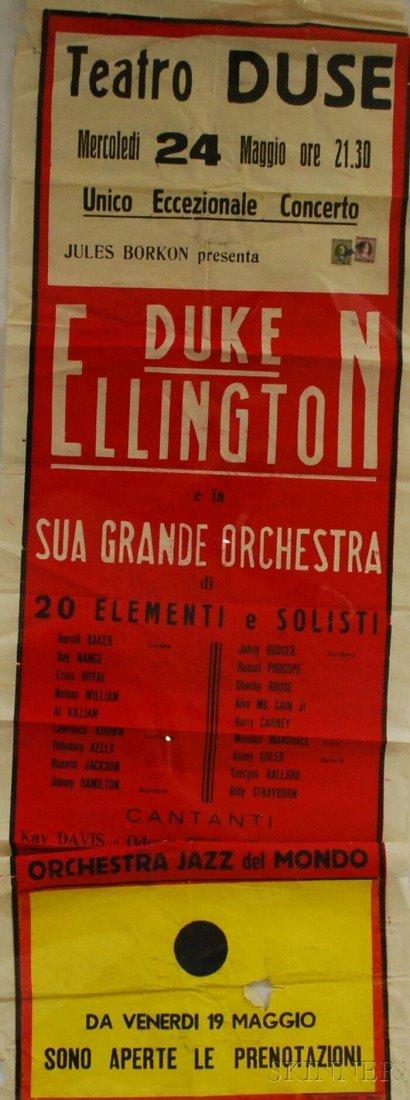 """9: Italian """"Duke Ellington e la Sua Grande Orchestra Te"""
