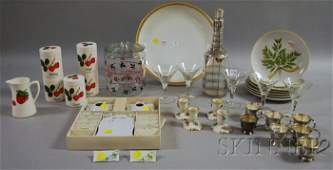 724 Group of Vintage and Decorative Table Items inclu