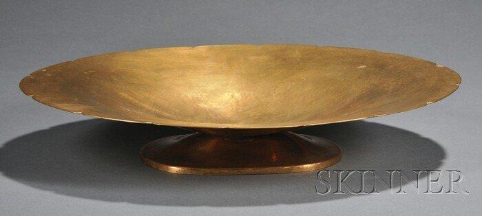 1: Dirk Van Erp (1859-1933) Arts & Crafts Center Bowl C