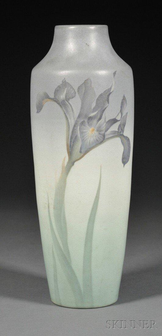 11: Rookwood Pottery Vellum Vase Decorated pottery Cinc