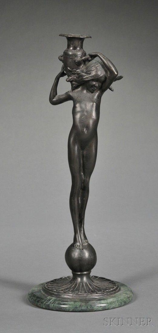 246: Edward McCartan (American, 1879-1947) Figural Cand
