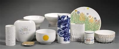 435D Eleven Rosenthal Porcelain Studio Line Items
