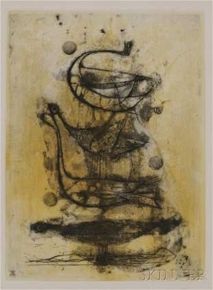 699: Johnny Friedlaender (German/French, 1912-1992) Ois
