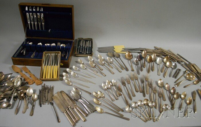 11A: Approximately 250 Pieces of 20th Century Silver-pl