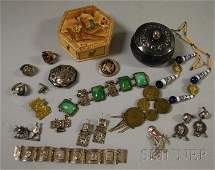 231: Group of Mostly Peruvian Jewelry, including an 18k