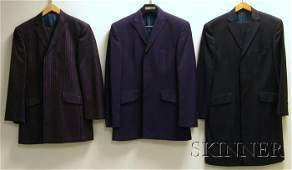 661 Two Mens Bespoke Couture by Ozwald Boateng Suits