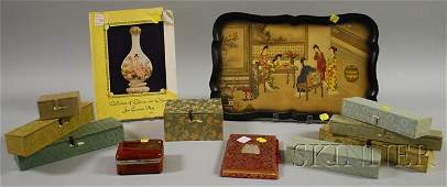 852 Group of Assorted Asian and Asian Artrelated Item