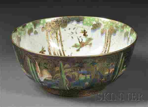 269: Wedgwood Fairyland Lustre Bowl, England, c. 1920,