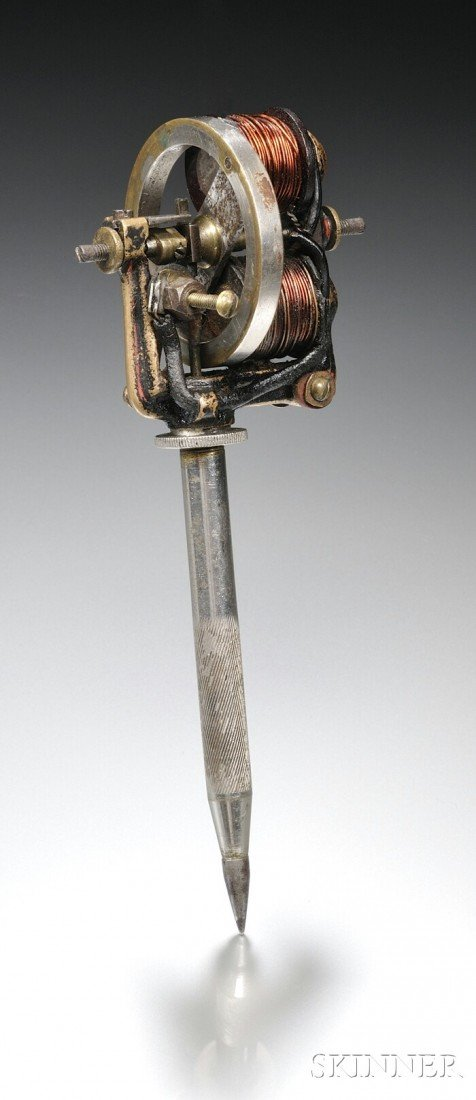 227: Edison Electric Pen, New Jersey, c. 1876, with two