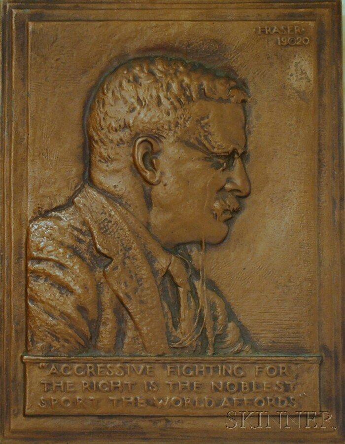 1: James Earle Fraser (American, 1876-1953) Portrait of