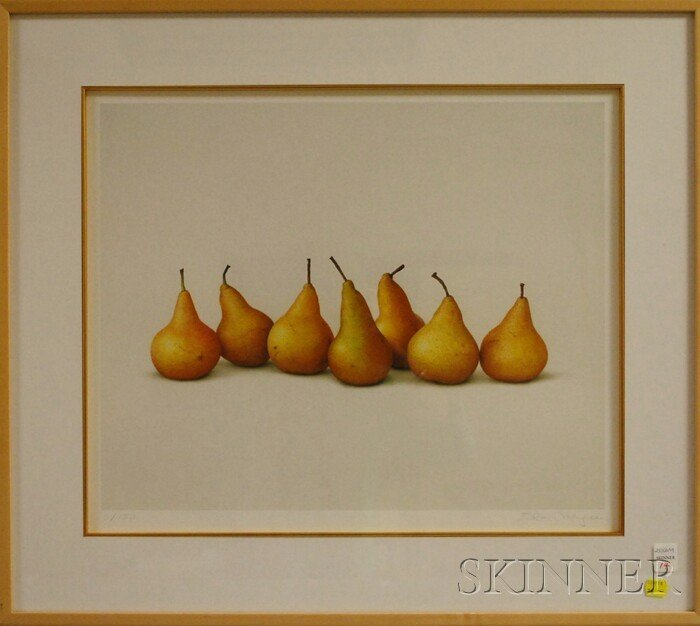 14: Alan Magee (American, b. 1947) Seven Pears I. Signe