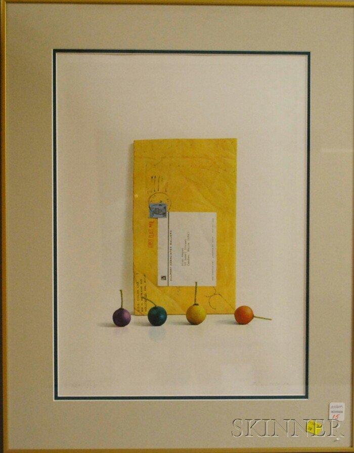 15: Alan Magee (American, b. 1947) Smoke Balls. Signed