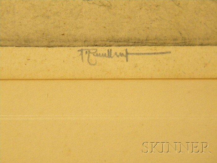 15A: American/British School, 19th/20th Century Lot of  - 3