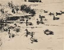 16 Frank Weston Benson American 18621951 Ducks at