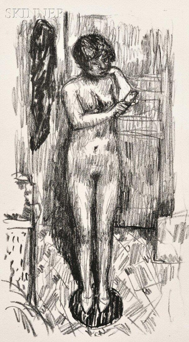 22: Pierre Bonnard (French, 1867-1947) Etude de nu, c.