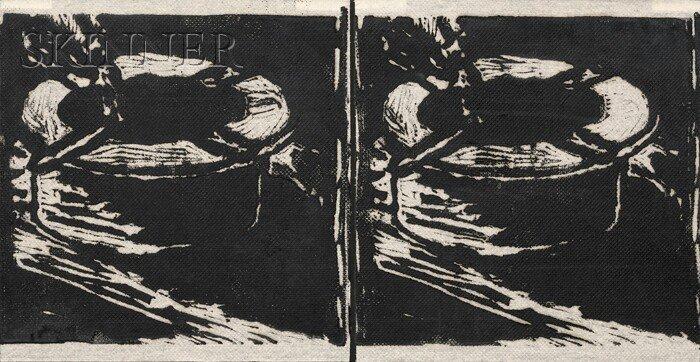24: Richard Bosman (American, b. 1944) Untitled (Cigare