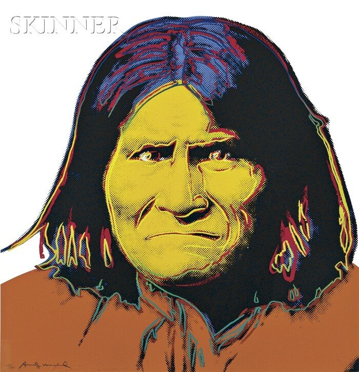 172: Andy Warhol (American, 1928-1987) Geronimo, from C