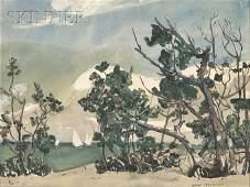 490 Jane Peterson American 18761965 Coastal View w