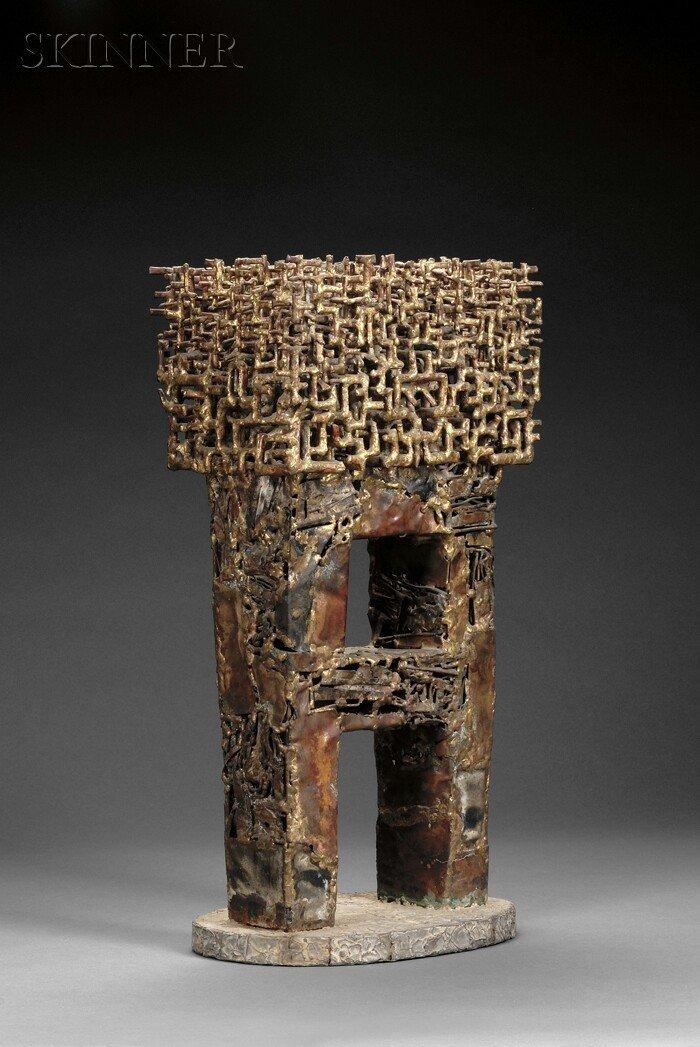 632: Satoru Abe (Japanese/American, b. 1926) Untitled S