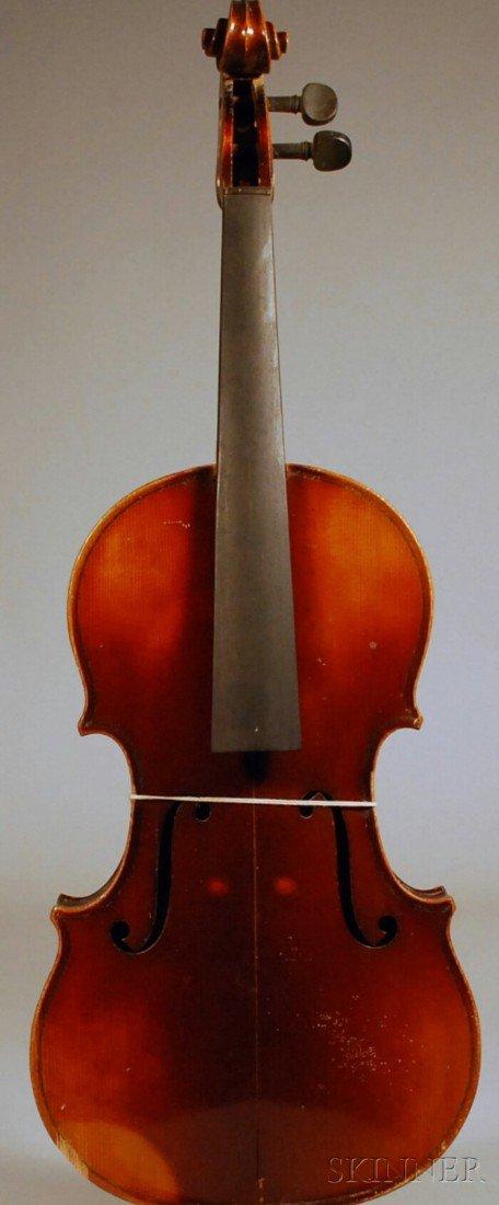 8: Modern Viola, Anton Schroetter Workshop, c. 1960, le