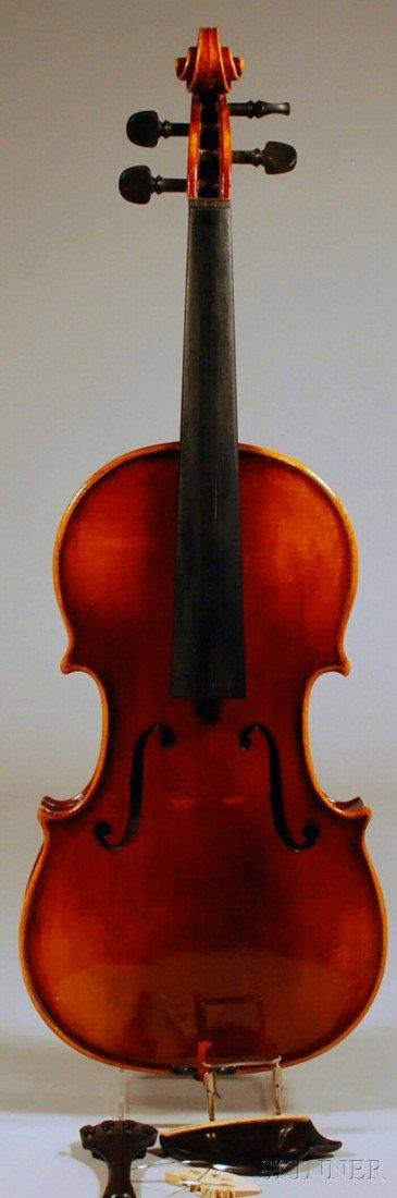 9: Modern Violin, Anton Schroetter Workshop, Mittenwald