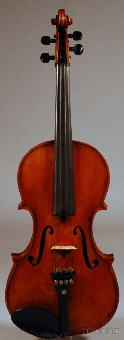 16: American Violin, Robert Fairlie, Brooklyn, 1888, be