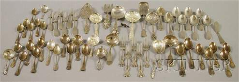 257A Large Group of Assorted Mostly Sterling Silver Fl