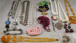 571 Small Group of Mostly Costume Jewelry including a