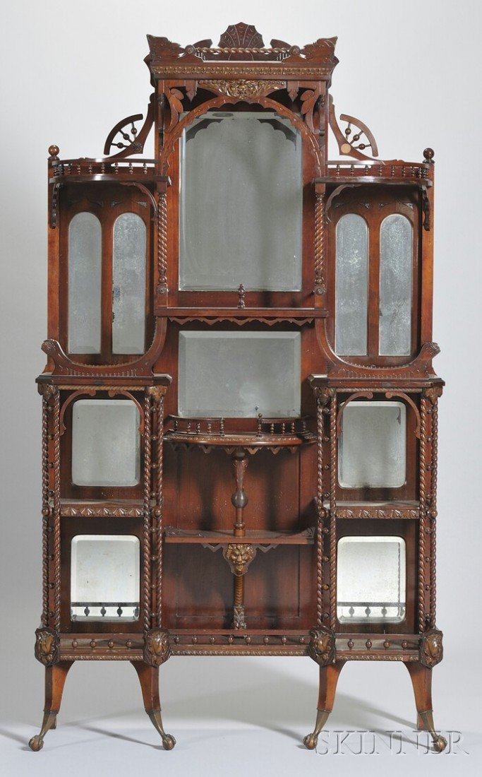 836: Merklen Bros. Attributed Victorian Aesthetic Turne