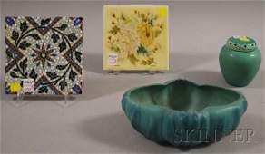 1298: Rookwood Pottery Glazed Porcelain Cache Pot with