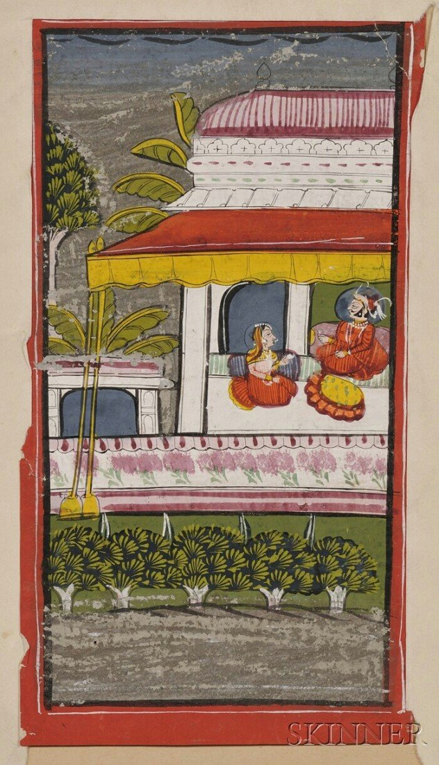 3: Miniature Painting, India, 18th century or earlier,