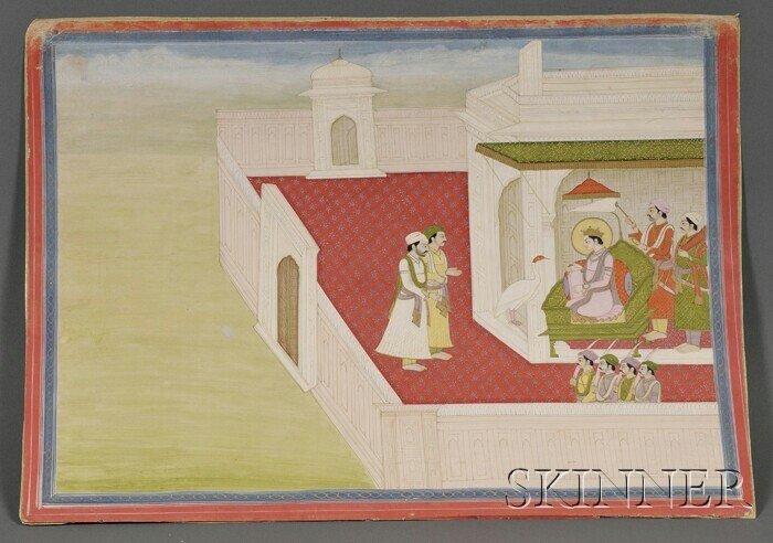 6: Indian Miniature Painting, Rajastan, 18th century, i