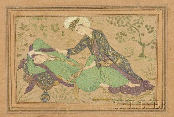 16: Miniature Painting, Persia, 20th century, Safavid-s