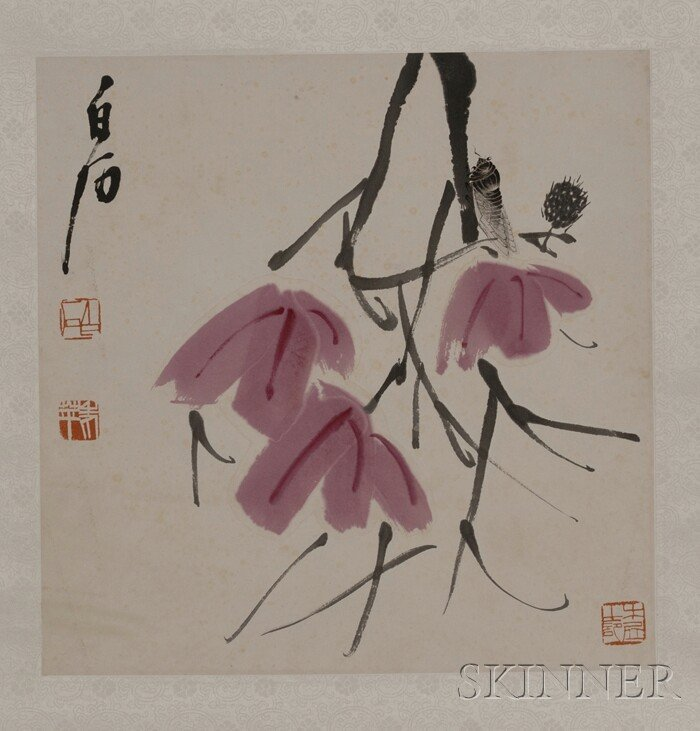 439: Hanging Scroll, China, ink and colors on paper, de
