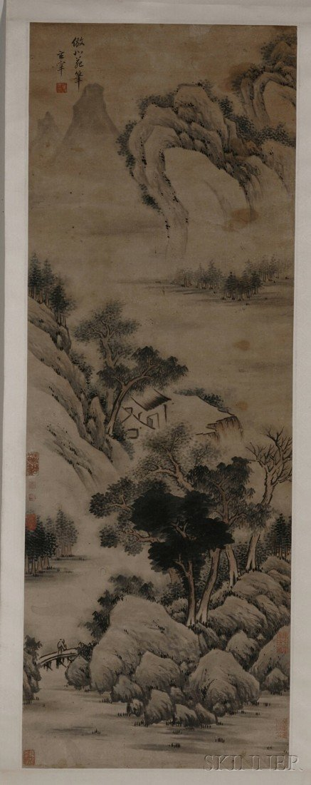 441: Hanging Scroll, China, ink and light colors on pap