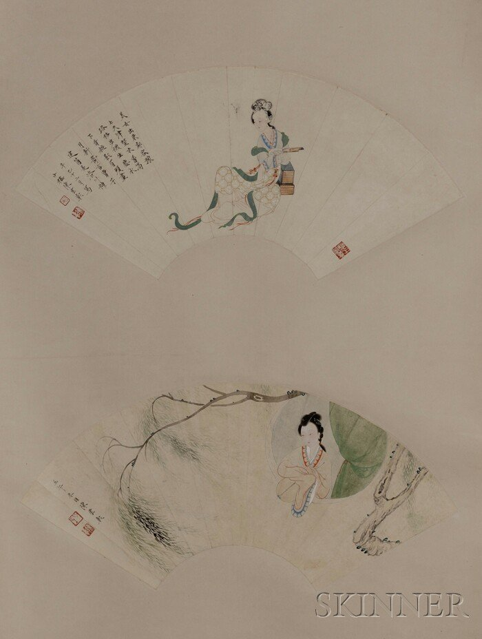 442: Hanging Scroll, China, ink and colors on paper, tw