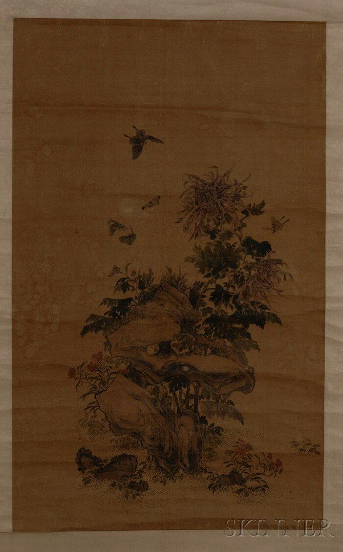 446: Hanging Scroll, China, Song-style, ink and colors