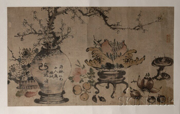 450: Loose Painting, China, 19th century, ink and color