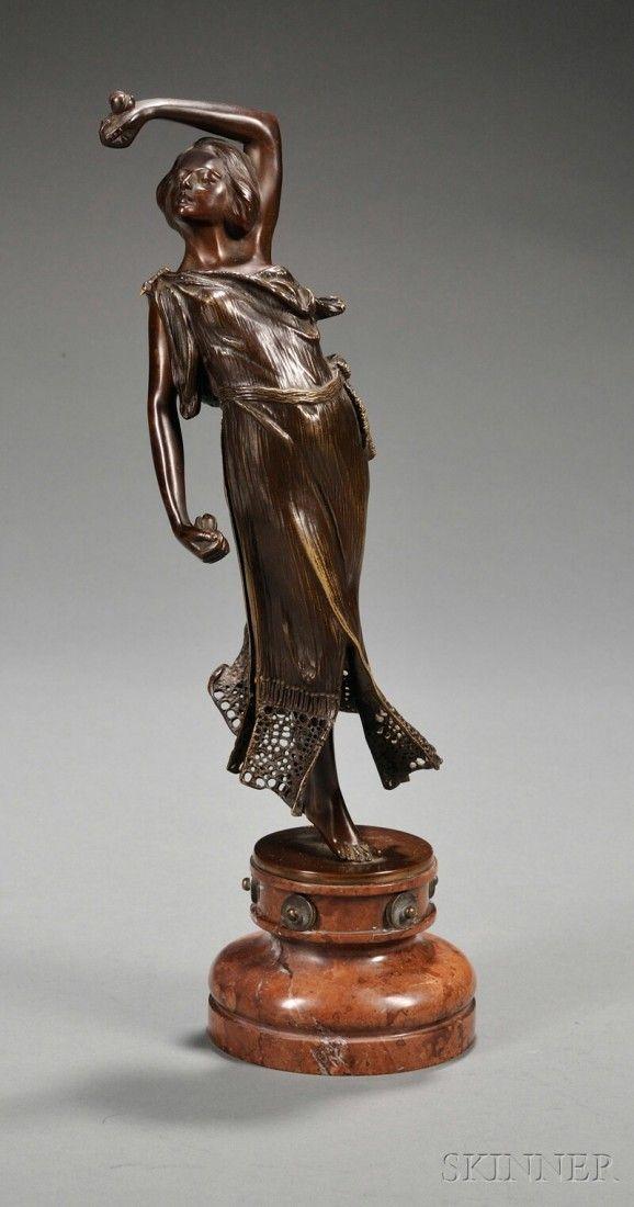 Carl Kauba (American/Austrian, 1865-1922) Dancer,