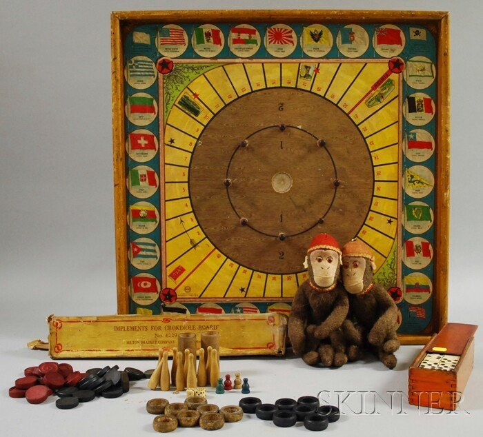 6: Group of Miscellaneous Toys and Games, including a p