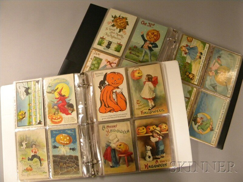 269: Large Lot of Early 20th Century Halloween Postcard