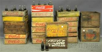 606 Twentytwo CocaCola and Canada Dry Painted Wood B